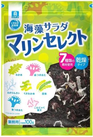 Витаминный салат из морских водорослей RIKEN Vitamins Seaweed Salad Marine Select