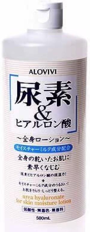 Увлажняющий лосьон с гиалуроновой кислотой для тела Alovivi Urea Hyaluronic Acid Whole Body Lotion