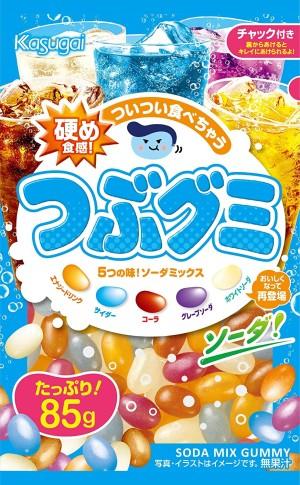 Шипучие конфеты Kasugai Soda Mix Gummy