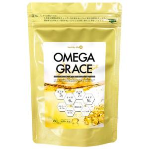 Четыре вида ненасыщенных жирных кислот Healthy Life Omega Grace