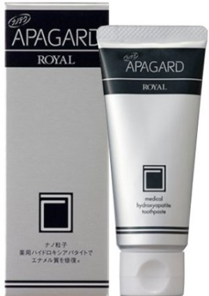 Лечебная зубная паста Apagard Royal с наночастицами гидроксиапатита 40 г