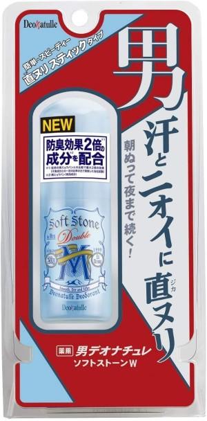 Мужской дезодорант-стик для чувствительной кожи Deonatulle Soft Stone Double M