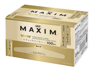 Растворимый черный кофе в стиках AGF Maxim Stick