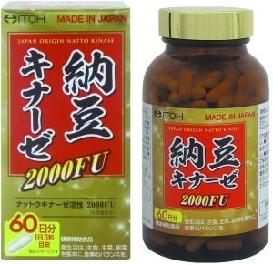 Наттокиназа ITOH Nattokinase 2000FU