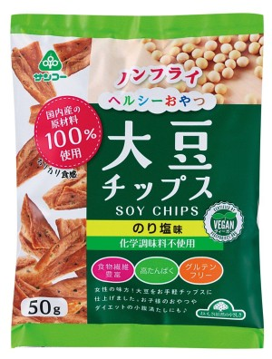 Соевые чипсы SOY CHIPS со вкусом сливочного соуса