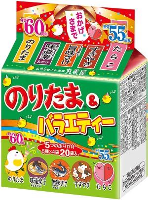 Ассорти из 5 видов фурикаке Marumiya Noritama & Variety