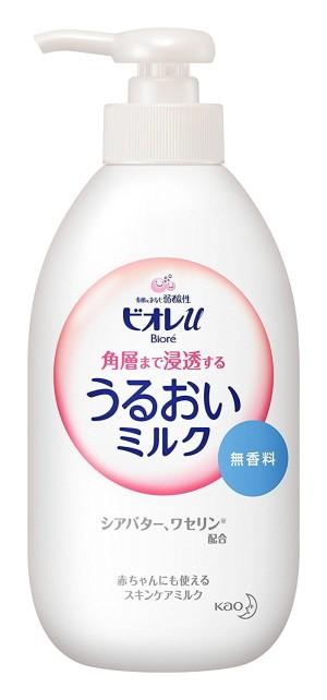 Увлажняющее молочко с маслом ши Kao Biore Moisture Milk