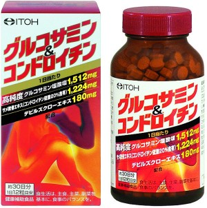 Глюкозамин и хондроитин ITOH Glucosamine & Chondroitin