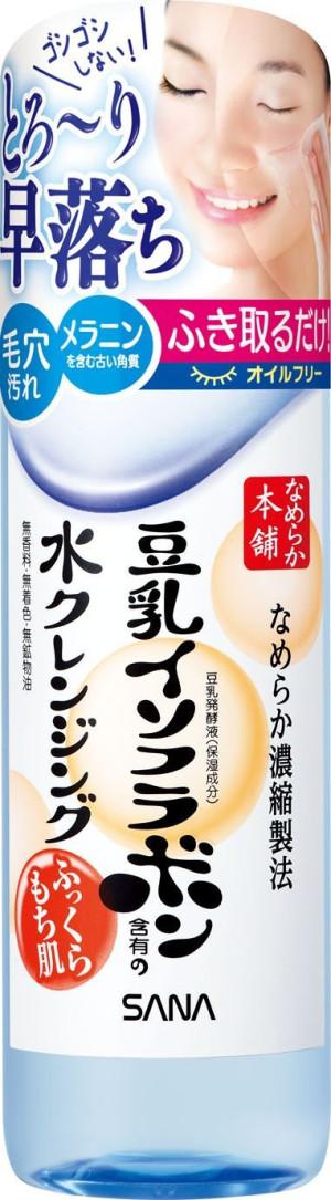 Очищающая вода Sana Nameraka Honpo Cleansing Water
