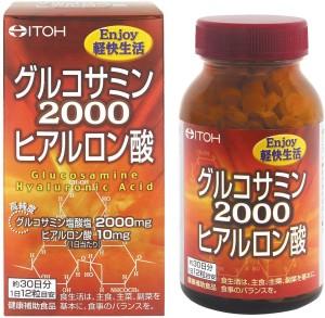 Глюкозамин и гиалуроновая кислота для здоровья суставов ITOH Glucosamine 2000 Hyaluronic Acid