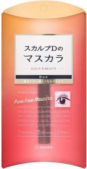 Удлиняющая тушь Angfa Scalp-D Beaute Pure Free Mascara