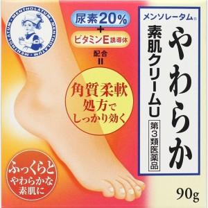 Крем Mentholatum для сухой и грубой кожи ног с карбамидом и витамином Е