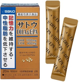 Омега-3 жирные кислоты Sato DHA & EPA