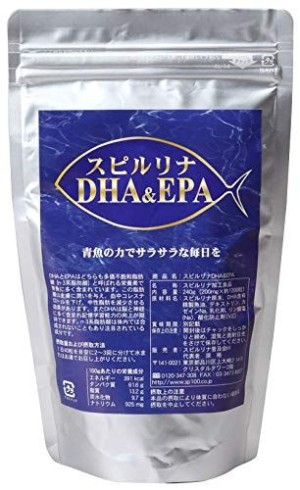 Спирулина и Омега-3 (DHA & EPA) Algae