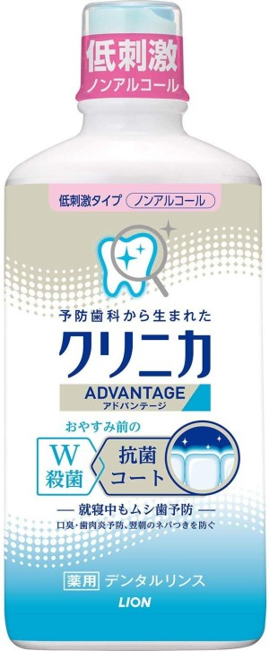 Ополаскиватель рта Lion Clinica Advantage Dental Rinse