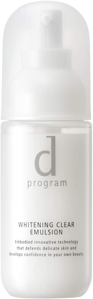 Осветляющая эмульсия при куперозе и пигментации Shiseido D Program Whitening Clear Emulsion