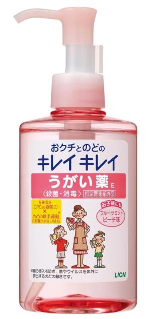 Жидкость для полоскания рта LION Кирэй-кирэй со вкусом персика и мяты
