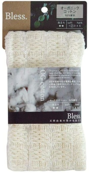 Эко-мочалка для тела Fujiei Bless Body Towel Natural