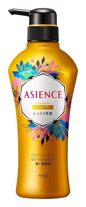 Увлажняющий шампунь с медом и гранатом Kao ASIENCE Moist Moisturizing Type Shampoo