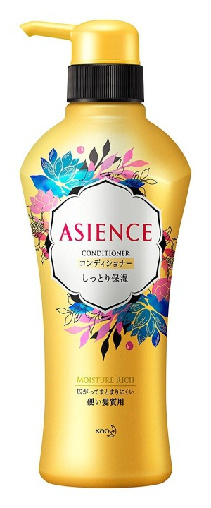 Увлажняющий кондиционер с медом и гранатом Kao ASIENCE Moist Moisturizing Type Conditioner