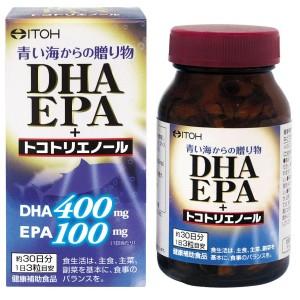 Комплекс для укрепления организма с Омега 3 и антиоксидантами ITOH DHA EPA + Tocotrienol