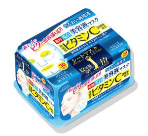 Отбеливающая маска с витамином С Kose Clear Turn Essence Vitamin C Mask