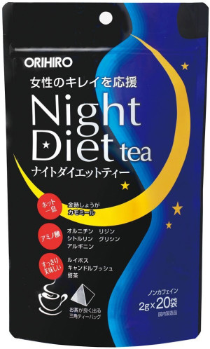 Ночной диетический чай Orihiro Night Diet Tea