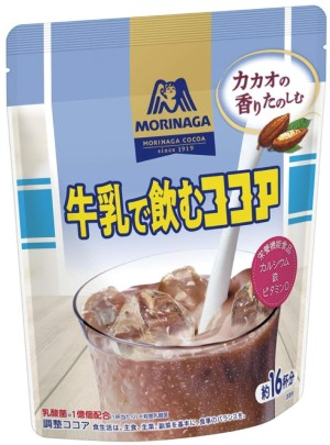 Какао-напиток с молочнокислыми бактериями Morinaga Cocoa To Drink With Milk