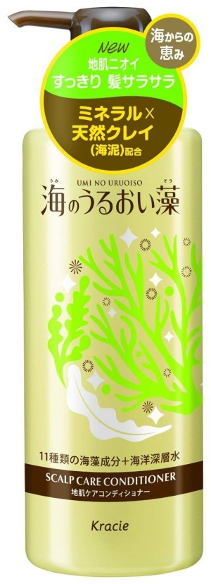 Увлажняющий кондиционер для ухода за кожей головы Kracie Umi No Uruoiso Scalp Care Conditioner