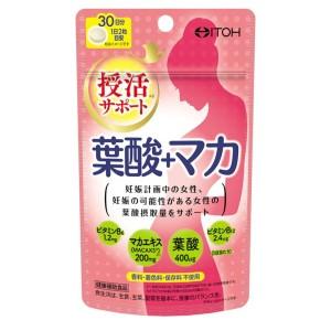 Комплекс для женщин с фолиевой кислотой и макой ITOH Folic Acid + Maca