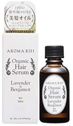 Органическая сыворотка для волос с эфирными маслами AROMA KIFI Organic Hair Serum Styling Lavender & Bergamot