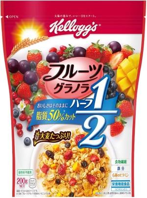 Гранола с ягодами и манго Kellogg's Fruit Granola Half