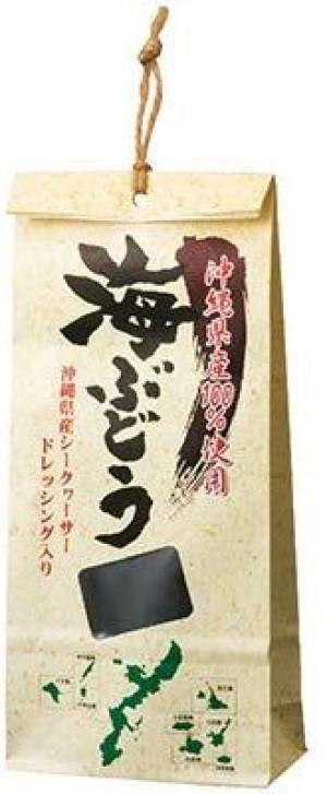Свежий морской виноград Okinawa Souvenir Sea Grapes Pack