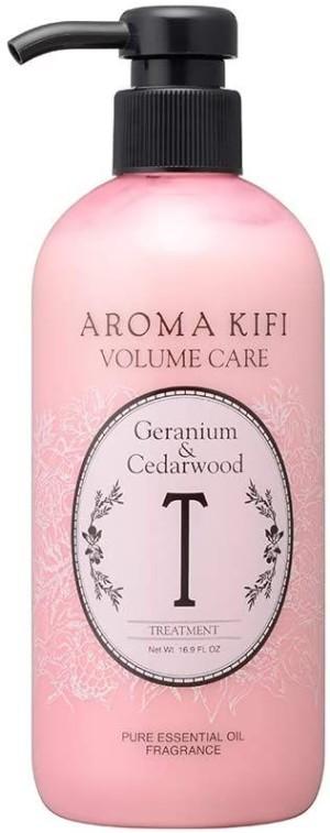 Тритмент для придания объема AROMA KIFI Volume Care Treatment Geranium & Cedarwood