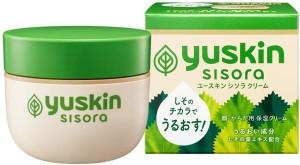Увлажняющий крем для чувствительной, раздраженной кожи с экстрактом листьев периллы Yuskin Sisora Cream