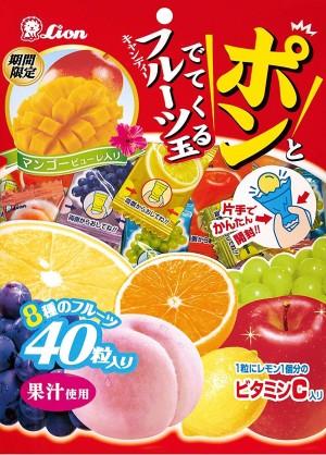 Фруктовые конфеты Fruit Ball Candy