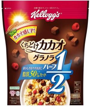 Гранола с ягодами и кубиками какао Kellogg's Cacao Granola Half
