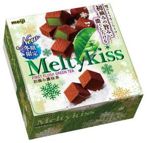 Шоколад с зеленым чаем MEIJI Melty Kiss First Flush Green Tea
