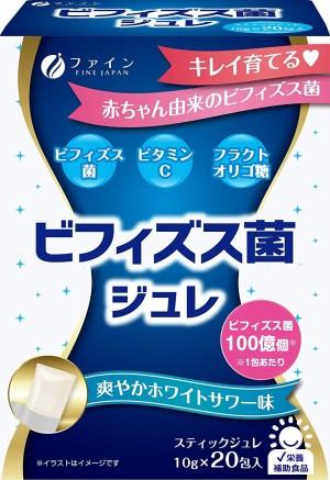 Желе с бифидобактериями и витамином С Fine Japan Bifidobacterium Jelly