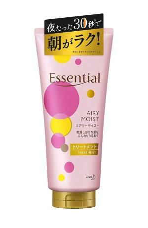 Лечебный увлажняющий бальзам для волос Kao Essential Airy Moist Treatment