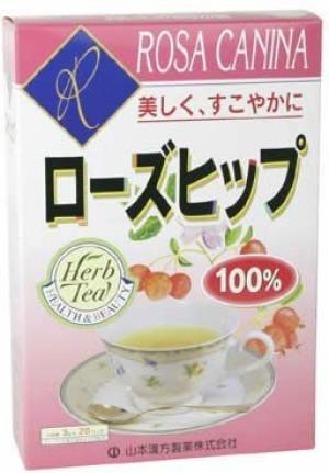 Чай с шиповником Yamamoto Kanpo Rose Hip 100%