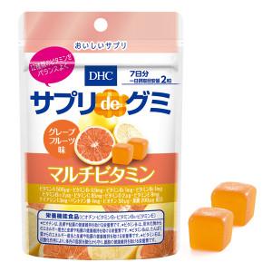 Жевательные мультивитамины со вкусом грейпфрута DHC Supplement de Gummy Multivitamin