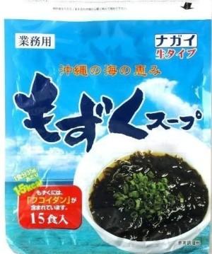 Суп быстрого приготовления из водорослей Mozuku And Gagome Kombu Dry Soup