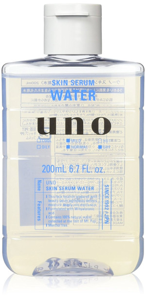 Увлажняющий лосьон для мужчин SHISEIDO UNO Skin Serum Water