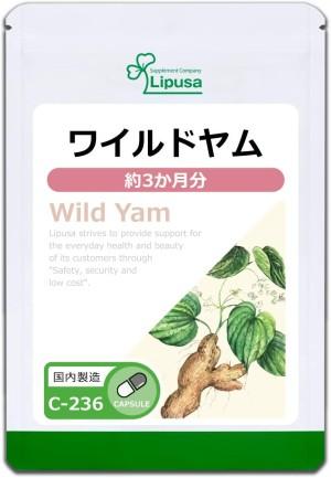 Дикий ямс для поддержания гормонального баланса Lipusa Wild Yam