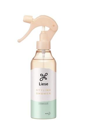 Термозащитный спрей для формирования объёма волос KAO Liese Inward Style Can Make Shower