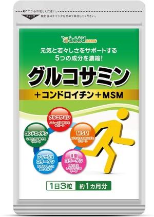 Комплекс для здоровья опорно-двигательного аппарата SeedComs Glucosamine + Chondroitin + MSM (МСМ) + Collagen ll