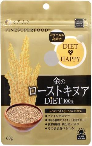 Жареное органическое киноа FINE JAPAN Gold Roasted Quinoa