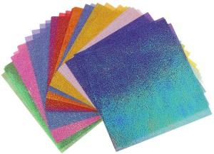Бумага для оригами #N/A Origami Colorful Shiny Glitter Craft Paper
