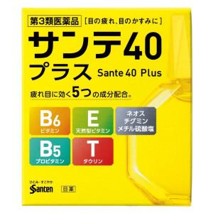 Глазные капли Sante 40+ с витаминами